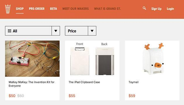 Etsy acquires indie-gadget marketplace Grand St.
