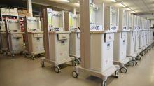 NHS faces shortfall of ventilators as manufacturers struggle