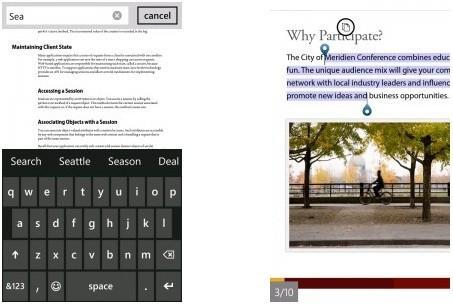 Adobe Reader 10.1 for Windows Phone brings updated file browser, new search functions and more
