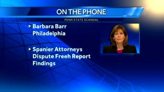 Attorneys for ousted PSU president dispute Freeh Report