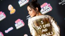 Jenna Ortega explains why she wore the jacket with a message for Melania Trump