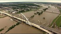 RAW VIDEO: Flooding On The Trinity River In Dallas