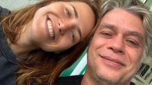 Fábio Assunção comete gafe e revela sexo do bebê que Letícia Colin espera