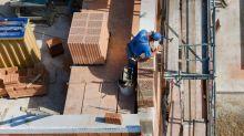 Baubranche mit weniger Aufträgen