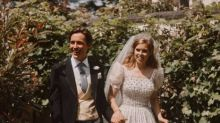 NEW photos from Princess Beatrice and Edoardo Mapelli Mozzi's royal wedding ceremony released