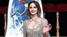Emma Watson 穿透視晚裝現身上海首映,美得根本就是從熒幕走出來的公主!