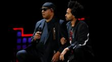Stevie Wonder joins #takeaknee protest against Trump's attack on NFL players