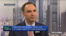 Deutsche Bank never felt political pressure over Commerzbank merger, CFO says