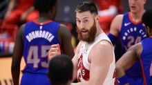 Raptors waive veteran centre Aron Baynes after forgettable season