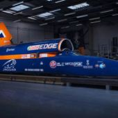 Bloodhound SSC Is Back on Track to Break 1000 MPH
