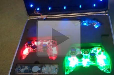 Joyswag: Set of Afterglow controllers for PS3, Xbox 360 and Wii