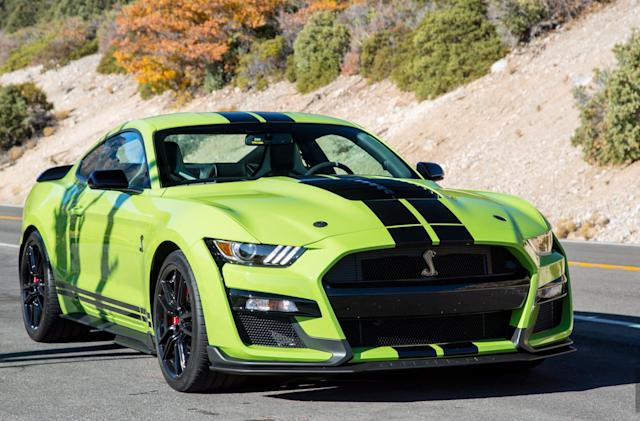 Ford Mustang Shelby GT500: Great on the track, good enough for the road