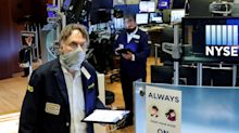 Stock market news live updates: Stocks higher with earnings, stimulus talks in focus