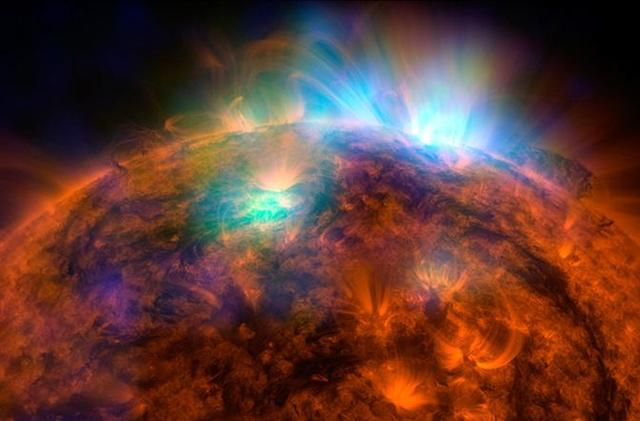 The Big Picture: NuSTAR telescope shows the sun blasting out X-rays