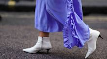 10 ways to wear white boots all year round