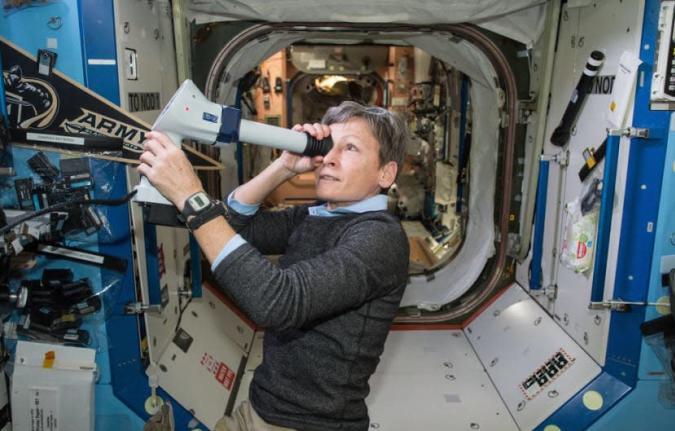 Am 26. April funkt die ISS zum ersten Mal live auch in 4K