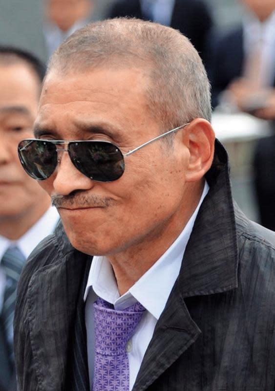 山口組是日本合法登記註冊的組織,圖為現任組長司忍,本名筱田建市。(東方IC)