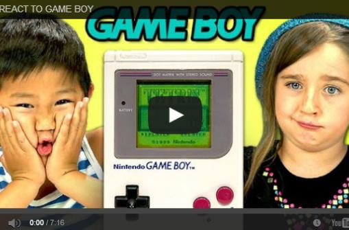 Feel old by watching kids not know what a Game Boy is