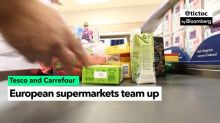 Tesco Teams Up With France's Carrefour