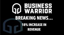 Business Warrior Achieves 18% Monthly Revenue Increase