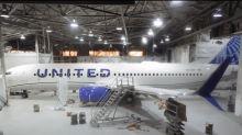 United Airlines Unveils New Paint Scheme