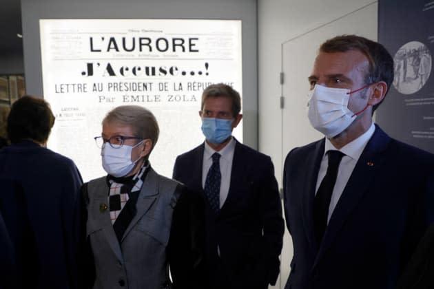 """Nommer Dreyfus général? Pour Macron, cette décision revient """"sans doute"""" à l'armée"""