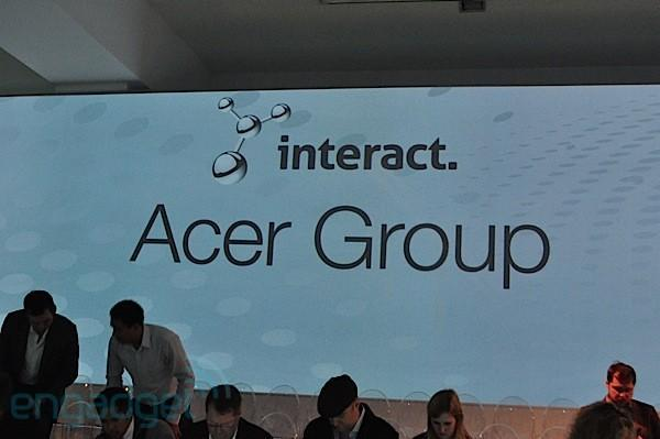 Live from Acer's global press conference
