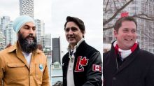 Trudeau, Singh, Scheer Share Holiday Cards Ahead Of Christmas
