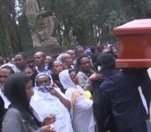 Ethiopians Mourn 157 Plane Crash Victims in Mass Funeral