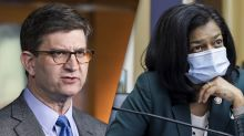 Two more House Democrats test positive for COVID-19, blame maskless colleagues for creating a 'superspreader event' amid Capitol siege