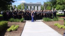 Daughter of Fallen Police Officer Gets Special Sendoff to Prom