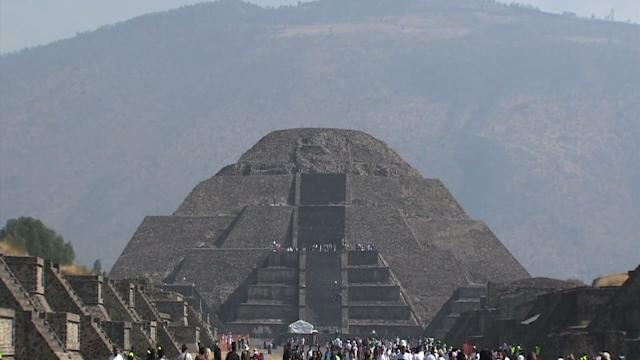 Spring Welcomed With Visits to Mexican Pyramids