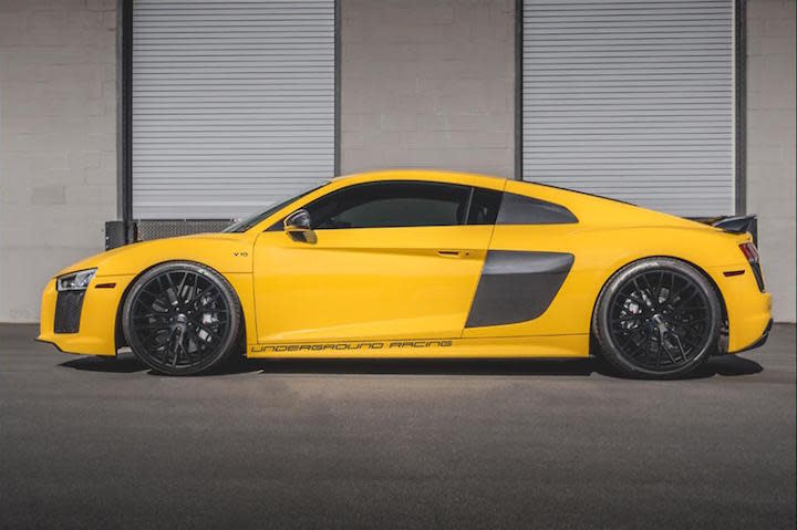 Never Satisfied With Performance Figures That Are Merely Impressive,  Underground Racing Has Taken A Crack At Tuning The 2017 Audi R8.