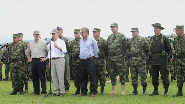 FARC confirms talks are underway with Colombian government