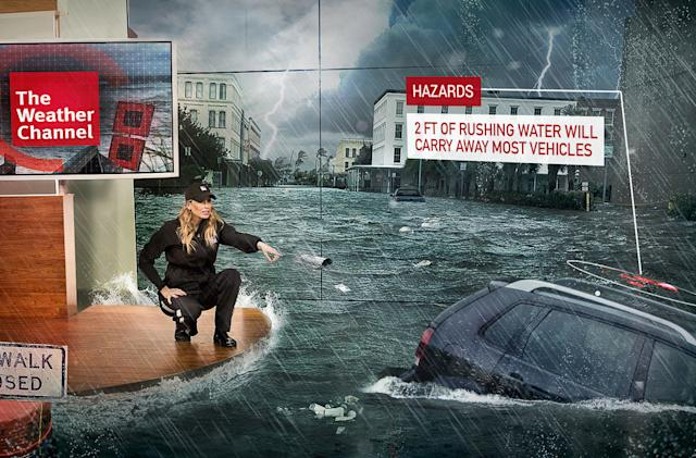 The Weather Channel will bring mixed-reality disasters to broadcasts