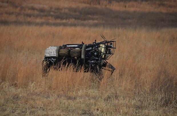DARPA shows off latest advances to four-legged LS3 robot: voice control, improved autonomy and maneuverability