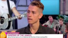 James McVey: 'I'm a Celeb' took me back to eating disorder days