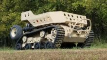 Grizzly Is a Rugged Tank Robot That Could Carry a Soldier's Stuff