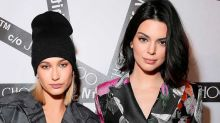 Kendall Jenner & Hailey Baldwin Share Topless Pictures in the Bath