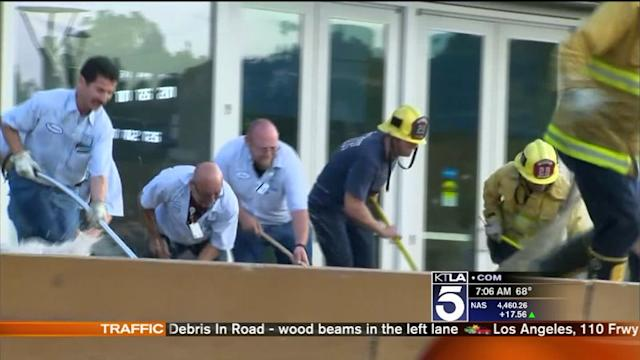 UCLA Flood: Officials Assess Damage at Pauley Pavilion; Cleanup Continues
