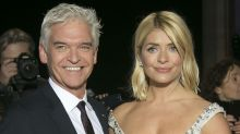 Holly Willoughby swears after losing husband Dan Baldwin during holiday with Phillip Schofield