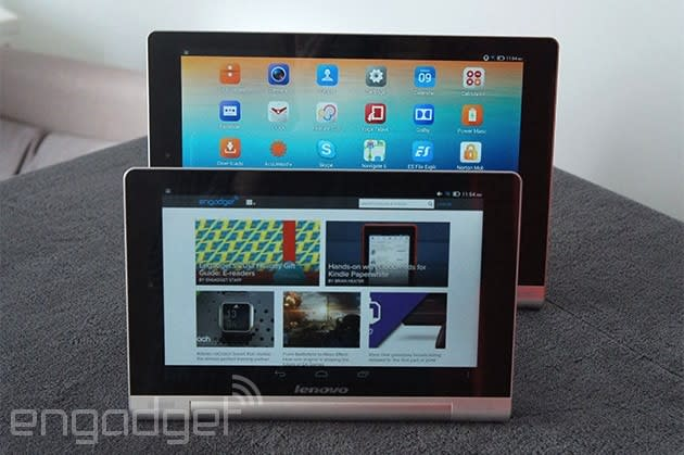 Lenovo Yoga Tablet review: long battery life in an otherwise disappointing device