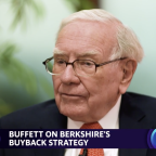 "Legendary investor Warren Buffett explains why stock buybacks make ""nothing but sense"""