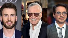 'I owe it all to you': Robert Downey Jr., Chris Evans and more react to news of Stan Lee's death