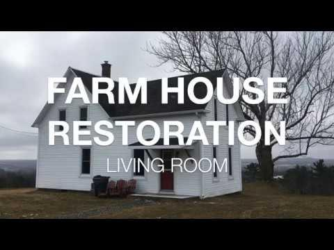 Creative couple restore their 100 year old farmhouse video for Renovating a 100 year old farmhouse