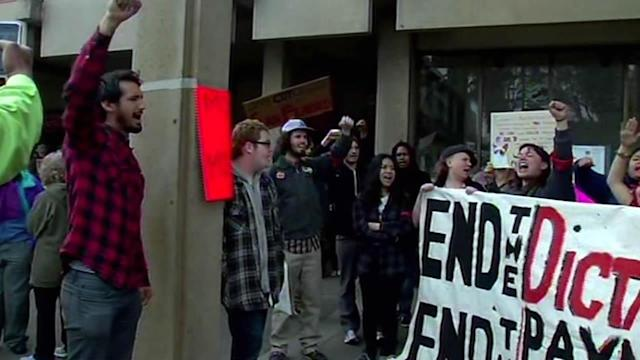 CCSF demonstrators to take protest to city hall