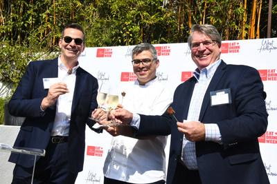 Visit West Hollywood Kicks Off Inaugural Eat + Drink Week At Sunset Marquis Hotel