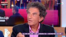 C à vous : Jack Lang prend la défense d'Alain Delon après la polémique (vidéo)