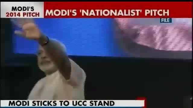 Modi says he stands by his one nation, one law statement