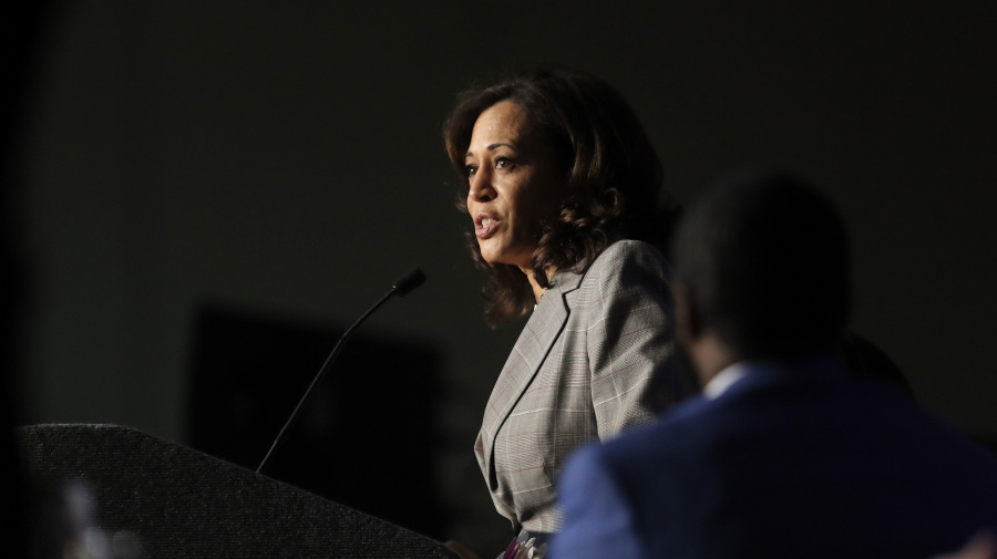 Kamala Harris joins call for Trump's impeachment